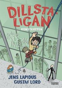 4 barnböcker om Dillstaligan av Jens Lapidus att spana in