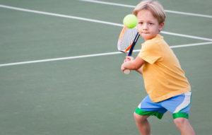 2 barnböcker om tennis att spana in