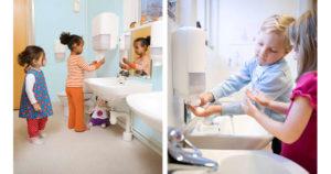 Lär barn tvätta händerna med 3 böcker